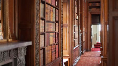 Restoration and redecoration were carried out in the Grand Library and adjoining orangery, as well a