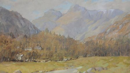 First Snow, Langdale Pikes - R, Martin Tomlinson