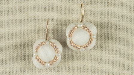 Dainty and elegant earrings