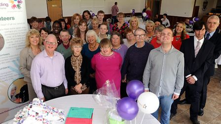 The 25th anniversary of the Befriending Scheme in Sudbury. Pictured at Sudbury Rugby Club.