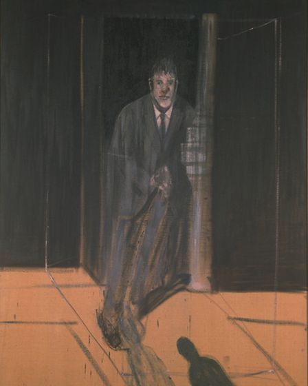 Francis Bacon 'Portrait of Lucian Freud' 1951. Coutesy of the Whitworth