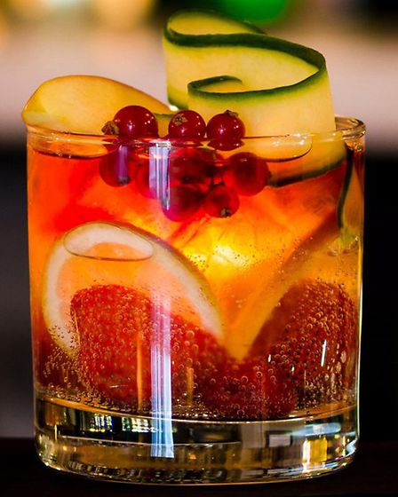 The cocktails at Circo are mixed with home-made purees and infusions.