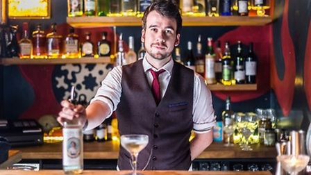 Tom Pople, mixologist at The Canary.
