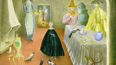 Leonora Carrington The Old Maids 1947 Oil on board 582 x 738 mm Robert and Lisa Sainsbury Col