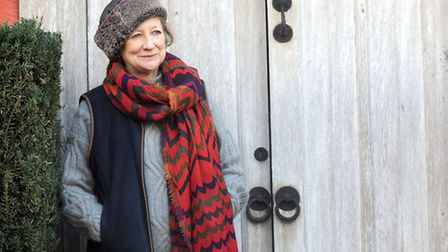 Carla Carlisle is pictured at Wyken Hall. Carla has written a book about life on the estate.