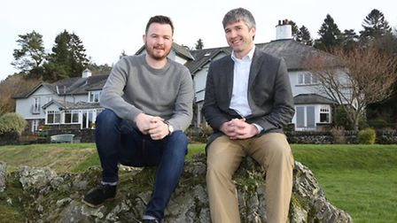Eddie Kilty (Head Chef) and Andrew Wildsmith (Owner) at The Ryebeck