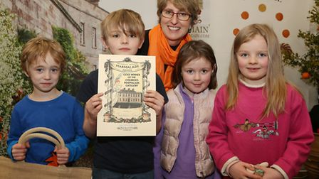 Pupils from Threlkeld School in Cumbria picked up the Gold award in the Childrens Marmalade Category