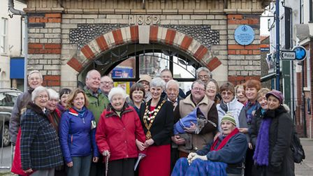 Members from the Sheringham-Muzillac Twinning Association for the Norfolk Magazine People with a Pas