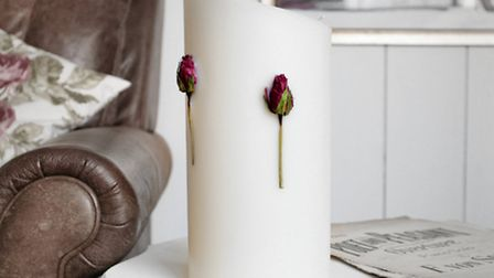 Entirely handmade in Dorset, these elegant candles by Maiden (which include rose, daisy and lavender