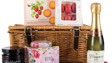 Any mum would love this wicker hamper of goodies from Virginia Hayward who are based in Stour Row £3