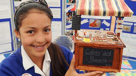 Brooke VC CE Primary School who won first prize in their section of the 2014 Food and Farming challe