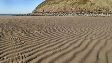 The Beach at St Bees. Ben Barden Cumbria Photo