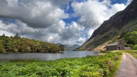 View of Wast Water from the pump house Mark Gilligan