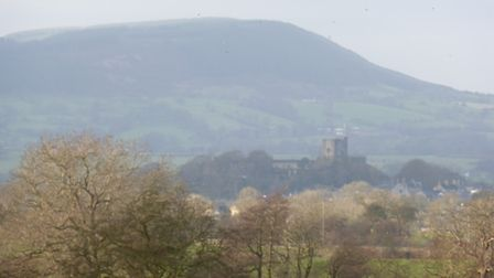 View to Clitheroe Castle