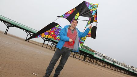 Patrick May, founder and organiser of the St Annes Kite Festival