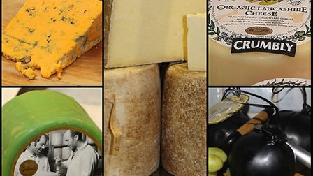 A selection of the best Lancashire cheeses