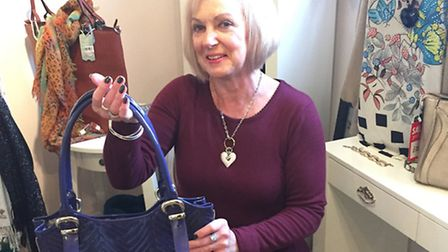 sue smith, whats in my bag, april 2015, amy westall, SGL