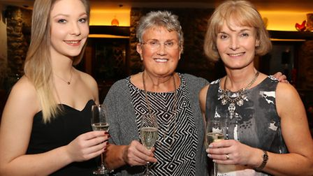 Hannah McGill, Janet Simpson and Sue McGill