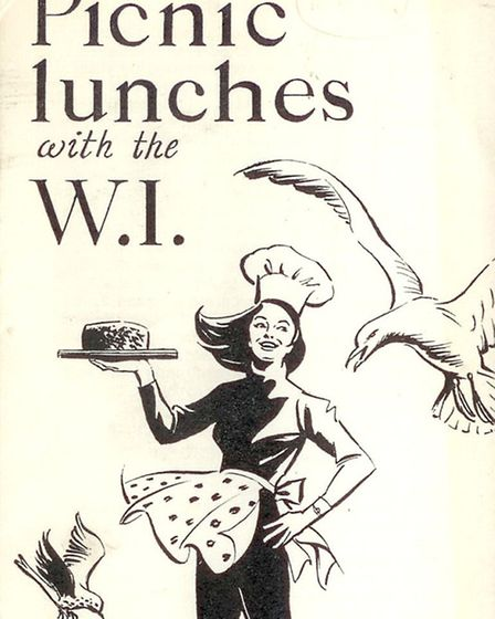 Leaflet collecting together recipes for picnic lunches