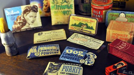 Products of the past at Norwich's Bridewell Museum