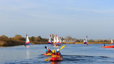 Get paddling with the Hengistbury Head Outdoor Education Centre