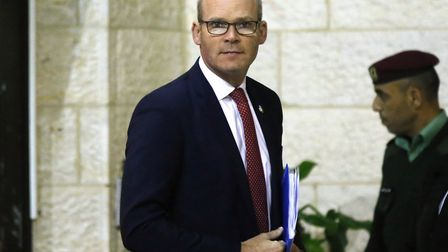 Irish Foreign Minister Simon Coveney, who Bonnie Greer describes as 'formidable'. Picture: ABBAS MOM