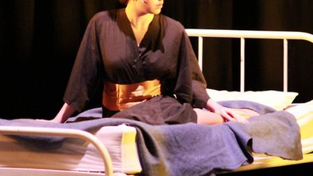 Emma Wright, who has gained a place at the National Youth Theatre, showed promise when she was in th