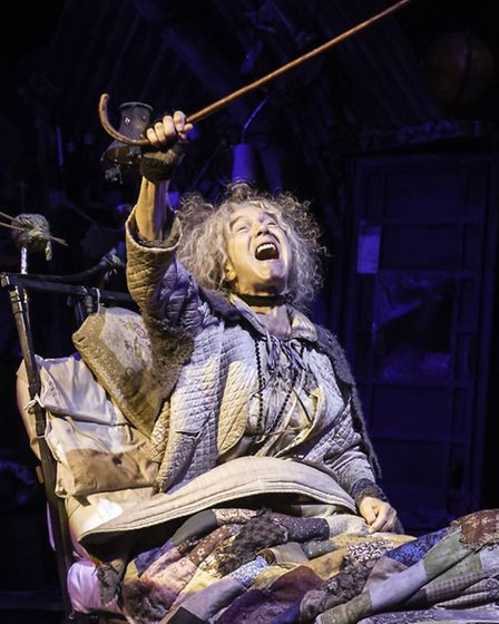 Charlie and the Chocolate Factory currently being performed in the West End with Suffolk actress Myr