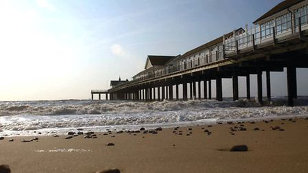 PICTURE GALLERY Pic Simon Parker Southwold Pier basks in the early morning spring sunshine EA