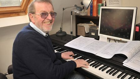 Showbiz composer Denis King will make the short trip from his Walberswick homes to be part of the So