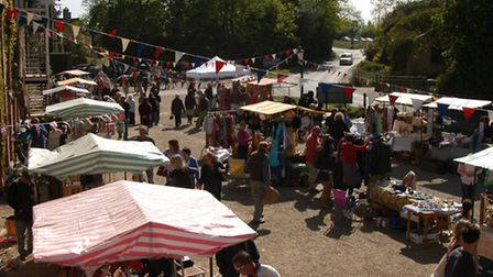 The Vintage Market returns to Snape Maltings this month.