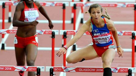 Commonwealth Games athlete Katy Sealy from Bawdsey competes for Belize