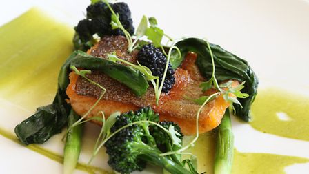 Pan fried trout is a favourite dish at The White Bull