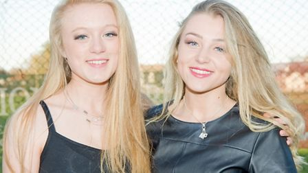 Malley Parsons and Mia Tinsley