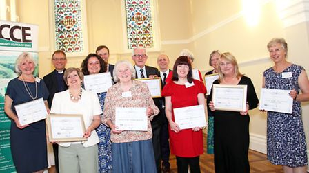 Winners at the Essex Life Community Magazine Awards