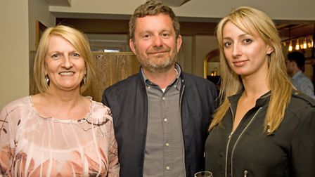Dawn Holding, Clive Holland and Joycelyn Neve