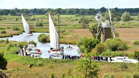 Wherry Yacht Charter Charitable Trust. Hathors relaunch and 110th anniversary celebrations at How H
