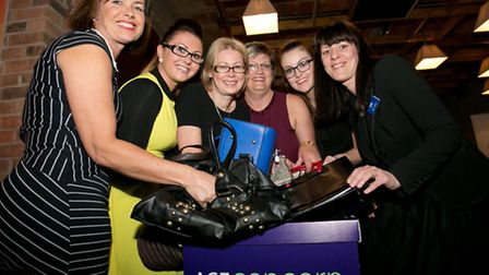 Mandy Coupe, Alex March, Vicky Turner, Alison Rigby, Liz Evans and Sadie Sharples