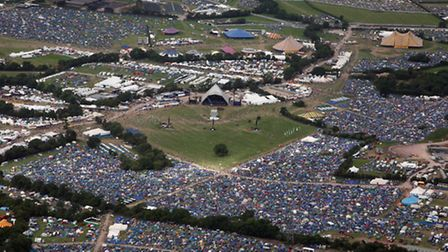 Worthy Farm is home to more people than the city of Bath for one weekend a year