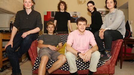 Lanty Ball, Laurence Brand, Louis Appleby, Alex Borland, Jarrad Connell and Bell Hall