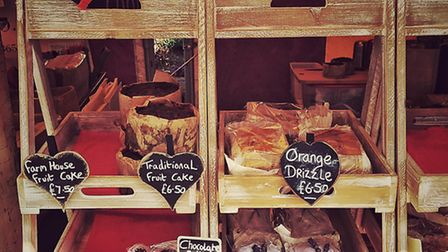 Goodies for sale at the market. Photo: James Fenwick