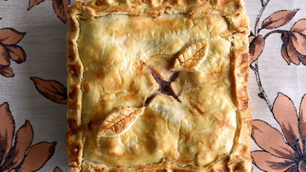 Delicious pies by Charlotte Smith-Jarvis. Pork Pie.