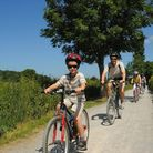 Have fun with the whole family while exploring the area. Photo J Bewley/Sustrans