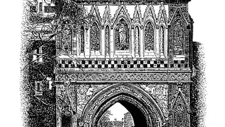 Pen and ink drawings of Norwich from artist Duncan Rae