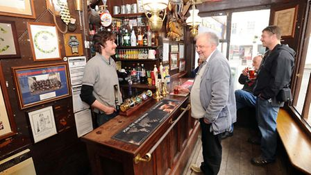 The Nutshell Pub in Bury is featured in the new publication from CAMRA (The Campaign for Real Ale),