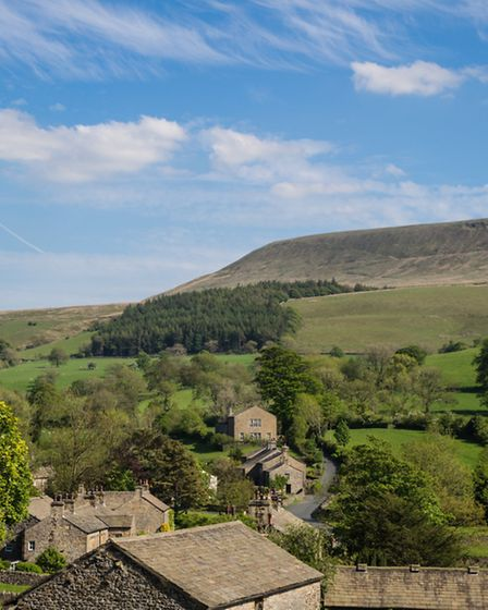 Pendle From Pendleton