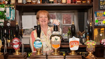Morag at the Swan with Two Necks