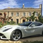 Outside The Pig, near Bath - a fabulous place to start an indulgent Great Drive