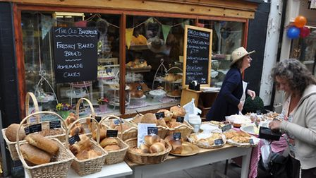 One of the popular markets held in this bustling Somerset town