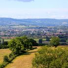 A view overthe Vale of Taunton Deane